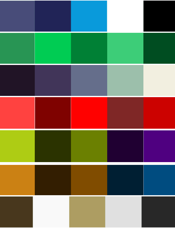 Colour And Mood colour scheme and mood board research | micphilp32